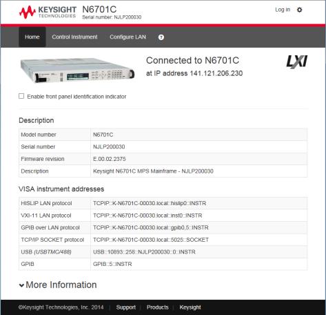 Remote Interface Configuration