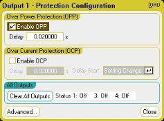 Using the Protection Functions