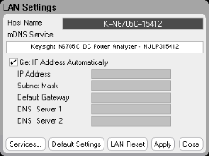 Configuring the Remote Interface