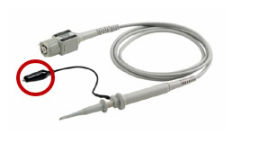 Oscilloscope-probe-ground