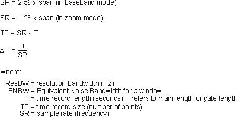 Window Bandwidth