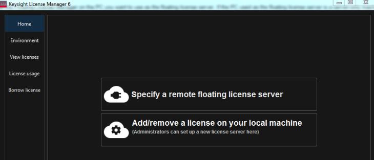 Configuring a Floating License Server